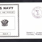 Guided Missile Cruiser USS MacDONOUGH DLG-8 Naval Cover
