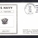 Attack Cargo Ship USS WASHBURN AKA-108 Naval Cover