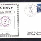 Attack Cargo Ship USS SKAGIT AKA-105 Naval Cover