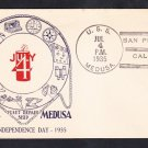 Repair Ship USS MEDUSA AR-1 Independence Day 1935 Naval Cover