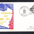 Destroyer Escort USS BARBEY DE-1088 CITIZENSHIP DAY BECK Naval Cover