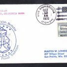 Guided Missile Cruiser USS BAINBRIDGE CGN-25 Navy Day 1975 Naval Cover