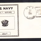 WWII Amphibious Attack Cargo Ship USS ALCYONE AKA-7 Naval Cover