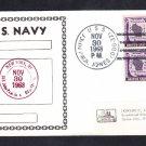 Guided Missile Destroyer USS JOHN PAUL JONES DDG-32 Naval Cover