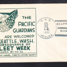 Repair Ship USS MEDUSA AR-1 Pacific Guardians Seattle WA 1935 Naval Cover