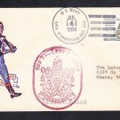 Cruiser USS YORKTOWN CG-48 Independence Day Patriotic Naval Cover