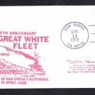 US NAVY BATTLESHIPS Great White Fleet Anniversary Naval Cover