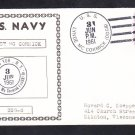 Guided Missile Destroyer USS LYNDE MCCORMICK DDG-8 COMMISSIONING Naval Cover