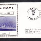 Destroyer Leader USS WILLIS A. LEE DL-4 Photo Cachet Naval Cover
