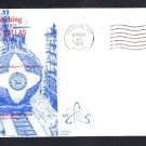 Submarine USS DALLAS SSN-700 LAUNCHING DPS Cachet Naval Cover