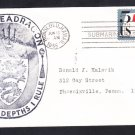 Submarine USS SEADRAGON SSN-584 Honolulu Hawaii Submarine Base Naval Cover