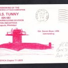 Submarine USS TUNNY SSN-682 COMMISSIONING Naval Cover