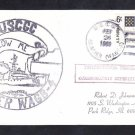 US Coast Guard Icebreaker USCGC GLACIER WAGB4 WEDDELL SEA EXPEDITION Naval Cover