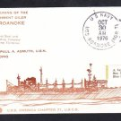 Replenishment Oiler USS ROANOKE AOR-7 COMMISSIONING Naval Cover