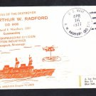 Destroyer USS ARTHUR W. RADFORD DD-968 COMMISSIONING Naval Cover