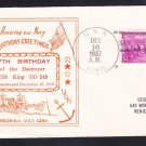 Destroyer USS KING DD-242 17th Birthday 1937 Naval Cover