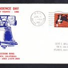 Destroyer Tender USS BRYCE CANYON AD-36 INDEPENDENCE DAY Naval Cover