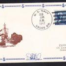 Landing Craft Repair Ship USS ASKARI ARL-30 BR# Cancel Naval Cover