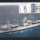 Amphibious Cargo Ship USS CHARLESTON LKA-113 Naval Cover Ship Postcard