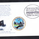 Nuclear Attack Submarine USS CHARLOTTE SSN-766 15th Anniversary Naval Cover