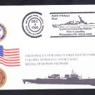 Guided Missile Destroyer USS DONALD COOK DDG-75 COMMISSIONING Naval Cover
