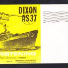 Submarine Tender USS DIXON AS-37 CHRISTENING Naval Cover