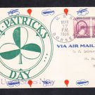 Destroyer USS DORSEY DD-117 St. Patrick's Day 1938 Naval Cover