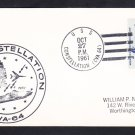 Aircraft Carrier USS CONSTELLATION CVA-64 Navy Day 1961 Naval Cover