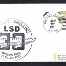 Amphibious Dock Landing Ship USS FORT SNELLING LSD-30 Naval Cover