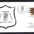 Guided Missile Cruiser USS WILLIAM H. STANDLEY CG-32 NAVY DAY Naval Cover