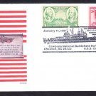Cruiser USS COWPENS CG-63 Star Spangled Banner Naval Cover