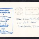 First US Navy Submarine USS HOLLAND 47th Anniversary Naval Cover