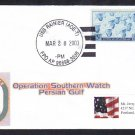 Replenishment Ship USS RAINIER AOE-7 OPERATION SOUTHERN WATCH Naval Cover