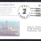Amphibious Transport Dock Ship USS LA SALLE LPD-3 Naval Cover MhCachets 1 MADE