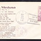 Destroyer Tender USS MEDUSA AR-1 12th Anniversary 1936 Naval Cover