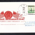 Fleet Oiler USS PLATTE AO-24 WASHINGTON'S BIRTHDAY 1941 Naval Cover