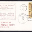 Nuclear Attack Submarine USS L. MENDEL RIVERS SSN-686 KEEL LAYING Naval Cover