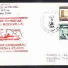 Patrol Ship USS ROCKVILLE EPCER-851 New Home Port Norfolk Naval Cover
