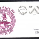 Aircraft Carrier USS THEODORE ROOSEVELT CVN-71 COMMISSIONING 1986 Naval Cover