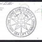 Stores Ship USNS SIRIUS T-AFS 8 Hampton Roads VA Naval Cover