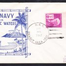 Attack Cargo Ship USS SKAGIT AKA-105 In Pacific Waters 1947 Naval Cover