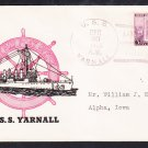 Destroyer USS TARNALL DD-143 DECOMMISSIONING 1936 Naval Cover