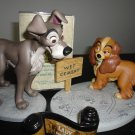 Lady And The Tramp WDCC with Title