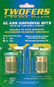 """Aanraku® 1"""" TWOFERS 2 bit set - 600 grit, Ultra fine"""