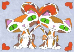 Cally and Co (aceo print)