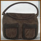 The Gap Brown Faux Fur Purse - Original $34.50 Tag on Handbag - FREE Shipping