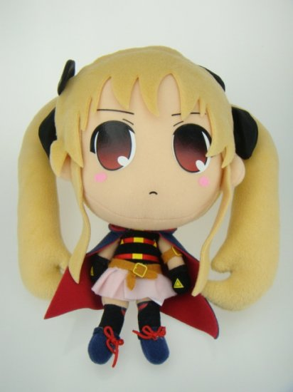 Magical Girl Lyrical Nanoha The MOVIE 1st PROJECT Fate Figure Fluff Plush Doll