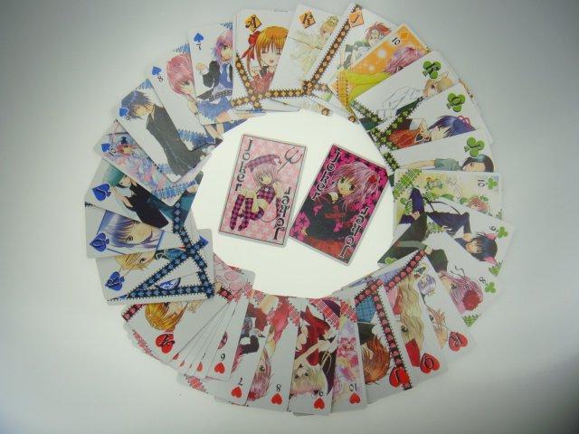 Shugo Chara PEACH-PIT NAKAYOSI 2008 Playing Cards Poker Official Promo