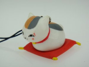 Natsume Yujin Cho Chou Yuki Midorikawa Cushion Figure Phone Charm Strap