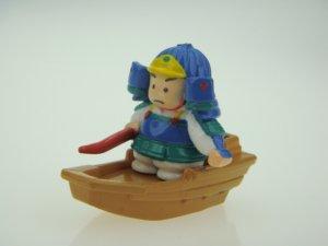 Japanese Samurai Small Figure
